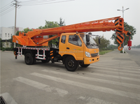 7ton truck mounted crane with good price for sales
