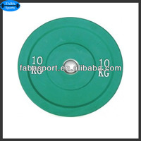 weight lifting rubber bumper plate