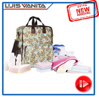 Hot Sale Polyester Baby Diaper Bag Online, Shoulder Backpack for Moms