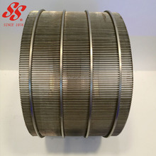 304 316L stainless steel wedge wire screen / mine sieve mesh