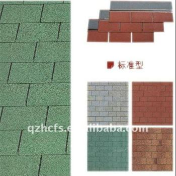 Self-Cleaning Decorative Good Aging 3-tab Standard Asphalt Roofing Shingle Sale