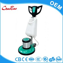 Manual warehouse rubber floor cleaning machines