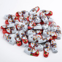 individually wrappered belgian animal shape chocolate