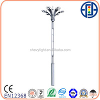 LED mast light poles in USA