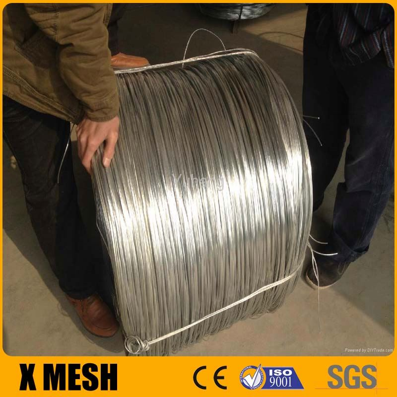 Cold Drawing 21gauge gi wire for Binding Wire