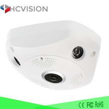 Cheap 3Mp wifi ip camera 4K fisheye dual lens vr 360 degree panoramic camera