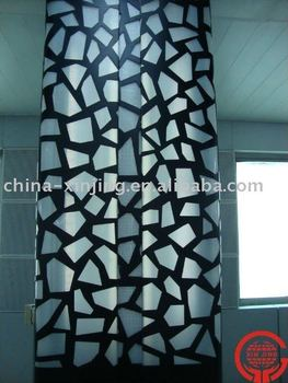 CNC perforated aluminum decorative curtain wall/ column cover