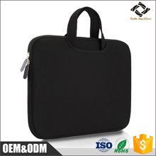 Cheap price good quality waterproof neoprene laptop sleeve with handle