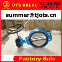 BV-SY-102 price butterfly valve worm gear ANSI and BS standard