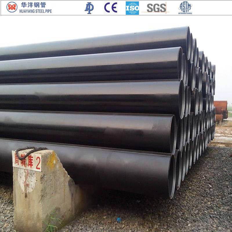 carbon 24 inch drain steel pipe welded