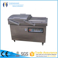 Hot Sale dz-400/2sb double chambers vacuum olives pack machine CE Approved