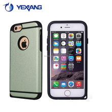 Yexiang best case dual color high quality tpu pc case for samsung s4 slim armor back cover