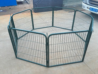 outdoor mesh metal dog cage