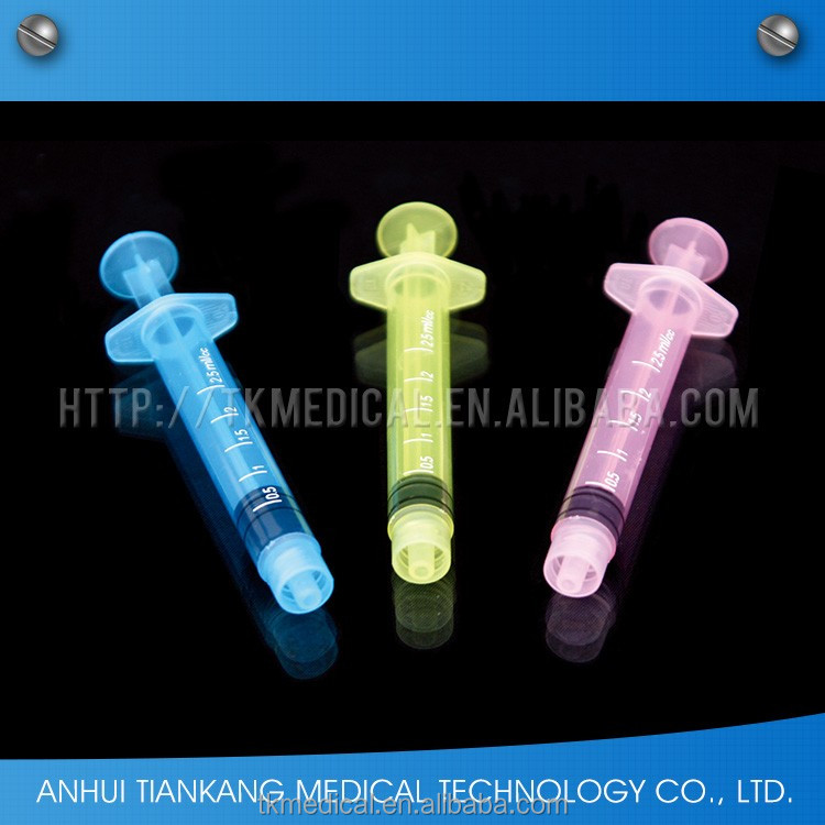 2017 Medical Supply Medical Color colored syringe plungers