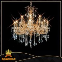 Antique Crystal Candle Chandelier for Church