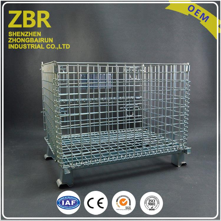 Galvanized welded wire mesh mink cages