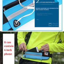 Outdoor Sport Running Waterproof Neoprene Phone Waist Bag Pouch