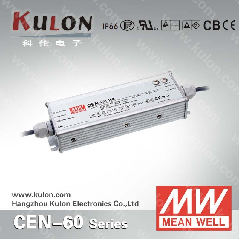 MEAN WELL CEN-60-36 36V for outdoor LED lighting reliable IP66 led driver