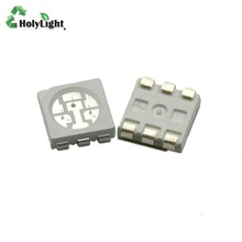 Factory Price Electronic Component 3.0-3.2V PLCC-6 5050 Colorful <strong>RGB</strong> Smd Led Chip for Led Strip