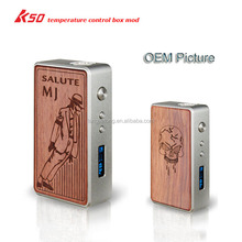 temperature control vape box mod vip killer k50 box mod super vapor e-cig