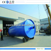 Q345R 16mm thickness reacor,Cheap rubber processing recycling oil equipment
