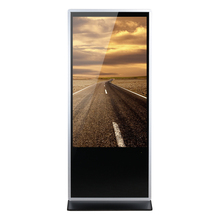 55 Inch Floor Stand LED Advertising Display IR Touch Screen Android Digital Signage