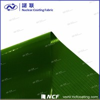 PVC cheap continuous curtain fabric with Coating both sides