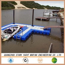 HDPE jet ski floating dock pontoon cube for the water park