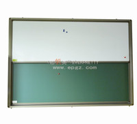 School Furniture Classroom Board 2 pcs Sliding White and Green Board