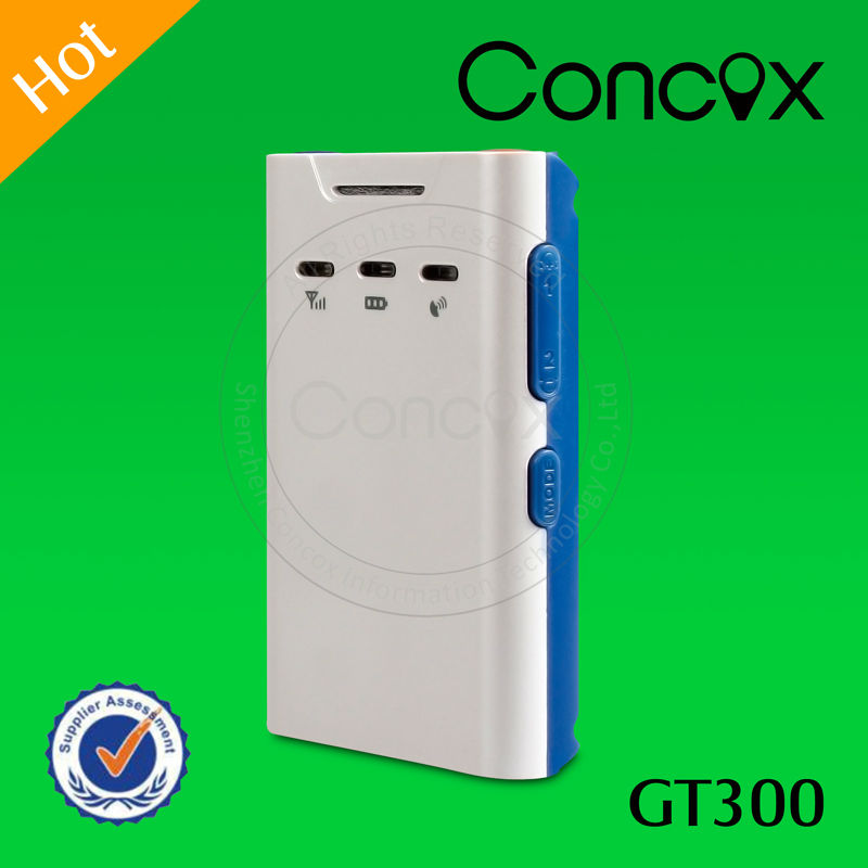 Concox Direct Manufacturer GT300 Mini GPS Vehicle/personal Tracker Suitable for Cargo/Container/Personal Tracking