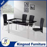 dining table new model 4 seater glass dining table design modern dining room furniture table and chair for sale