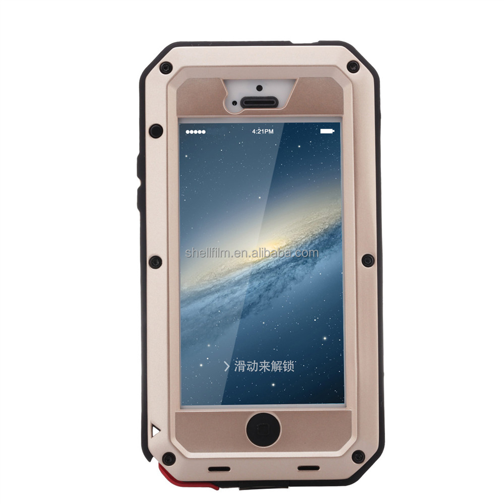 Tellin classical shockproof waterproof cell phone case for iphone 5/5s/se
