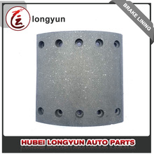 Materials used in brake linings for Zhongtong 153 bus brake block