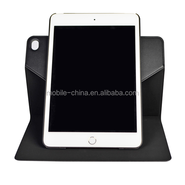 OEM Manufacturer 360 Rotating Stand Smart Cover Case for iPad mini 4 in Slim Design