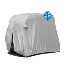 All weather protection waterproof hot sale golf cart covers with storage bag