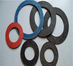 China lead manufactuer wholesale Fibre compressed Non Asbestos gasket for pipe flange sealing