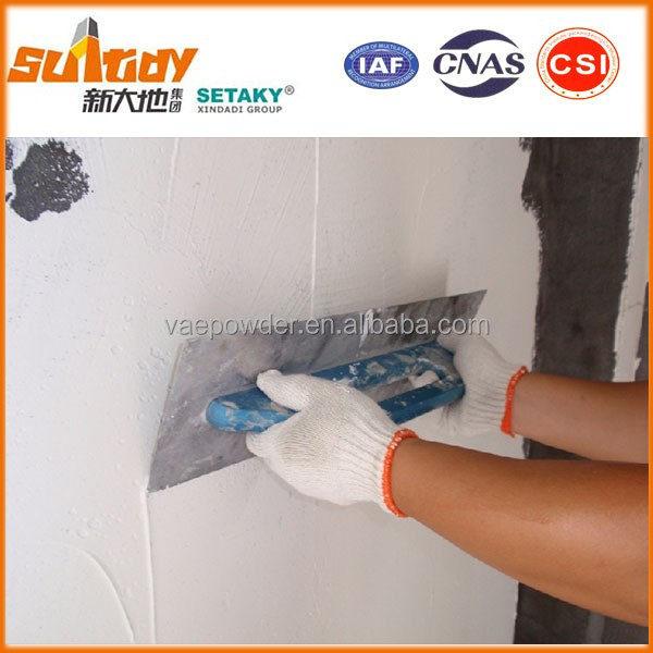 waterproof white cement based wall putty