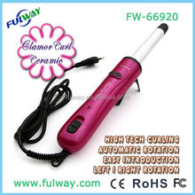 Nano technology hot hair styler tool mini rotating electric hair styler