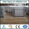 Portable Temporary Fencing and metal tube Crowd Control barrier