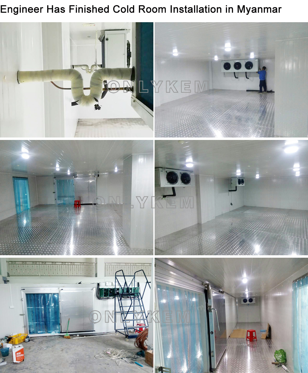 Mini Cold Storage Room Price With Machinery