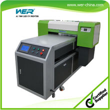 High quality large format size A1 uv glass printing machine with water cooling system