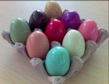 COLORFUL SCENTED SOLID SOAP EGGS