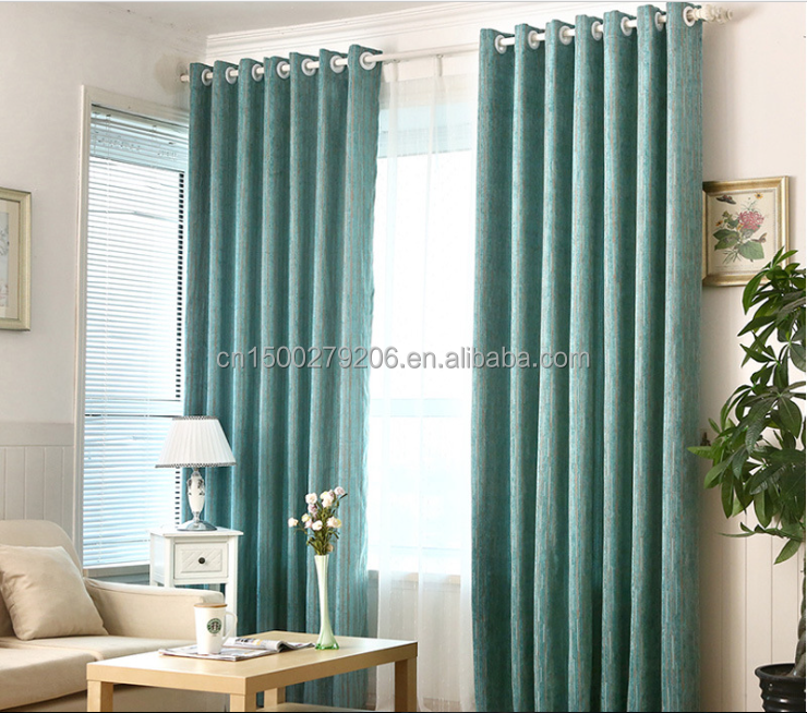 Used hotel drapes in curtain hotel style pleated and blackout chenille luxurious window curtain