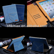 Tablet Cover Pocket Denim 3D Case For Apple iPad Air