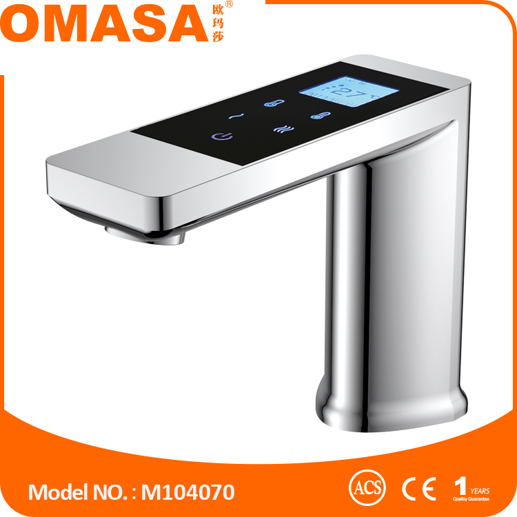 Good price high quality electronic touch control smart basin tap