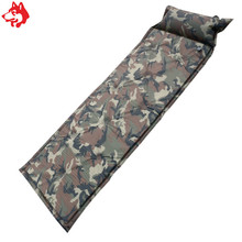military jungle camo automatic inflatable camping pad digital camouflage sleeping camping traveling mat