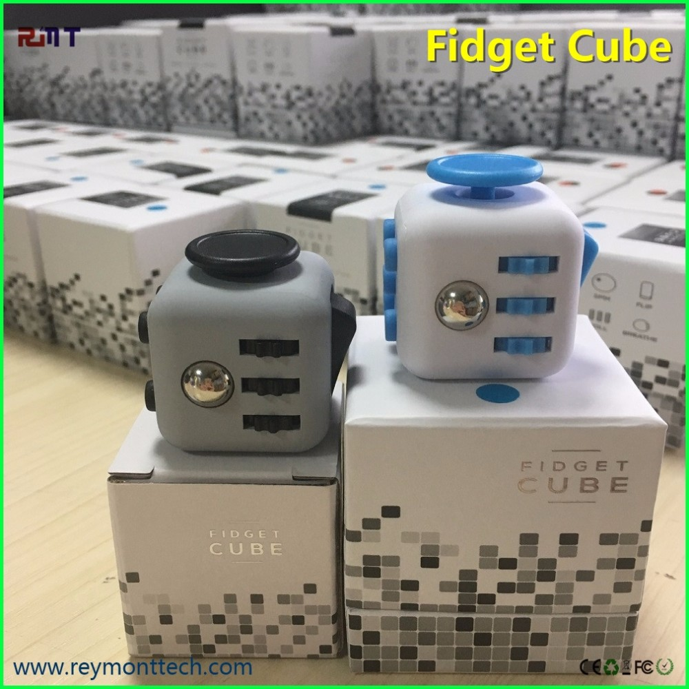 Huge Stock Decompression fidget cube from China factory