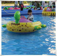 Fwulong high quality CE approved large inflatable water floats / bumper boat for kids