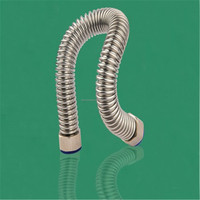 Corrugated stainless steel tubing (csst)Stainless steel braided corrugated flexible metal gas connection hose