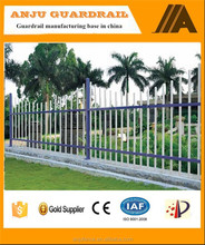 Anju brand alibaba gold supplier high security ornamental steel fence DK011